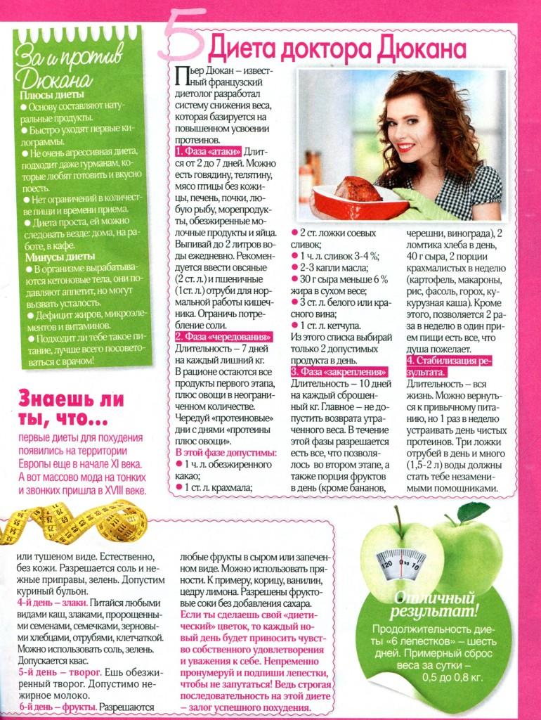 Быстрая и эффективная диета для похудения в домашних условиях 672